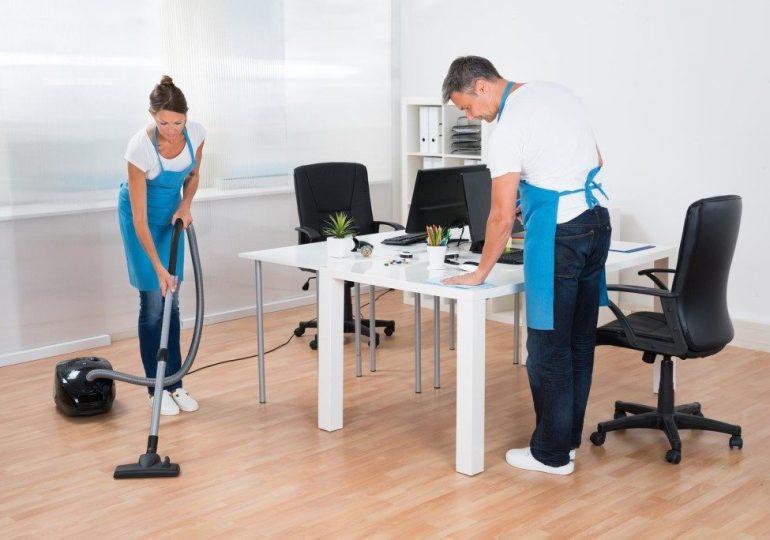 Клининг офисных помещений: особенности и перечень работ