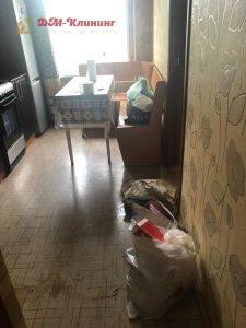 Уборка запущенной квартиры в Москве