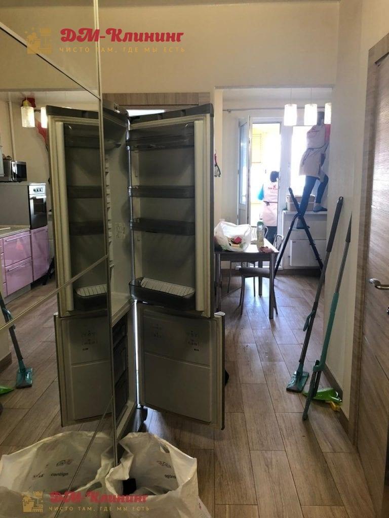 Уборка на лоджии и на кухне