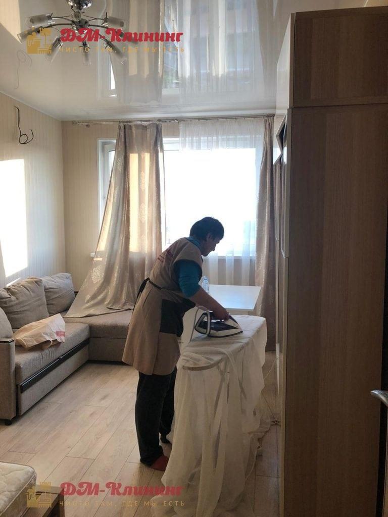 Стираем и гладим шторы и занавески