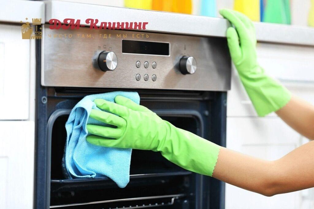Как отмыть стекло в духовке до блеска?