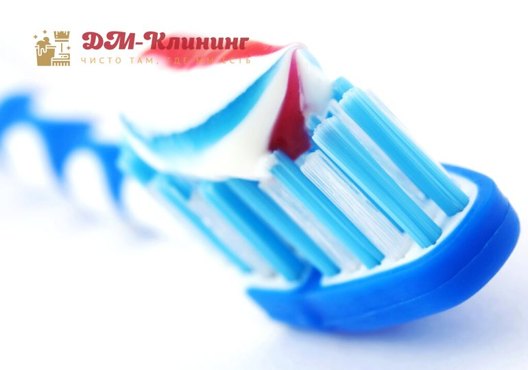 8 необычных способов применения зубной пасты в быту