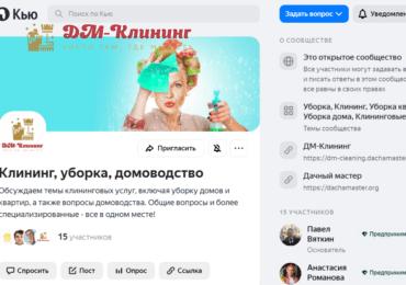 ДМ-Клининг на Яндекс Кью. Что это?